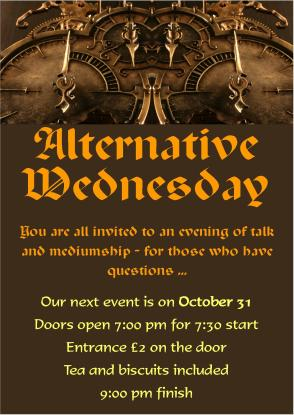 Alternate 31 October
